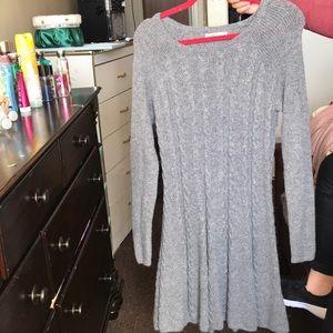 Sweater dress (Hollister)